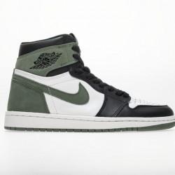 "Air Jordan 1 OG Retro High ""Clay Green"" Green Black 555088-135"