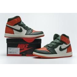 """SoleFly x Air Jordan 1 High OG """"Art Basel"""" Green Orange White AV3905-138 40.5-47"""