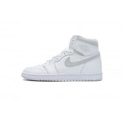 """Air Jordan 1 High 85 """"Neutral Grey"""" Grey White BQ4422-100 36-46"""