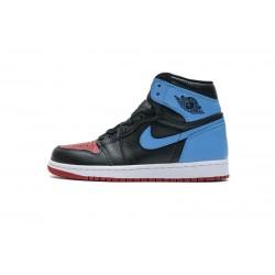"Air Jordan 1 High ""UNC To Chicago"" Blue Black Red CD0461-046 36-47"