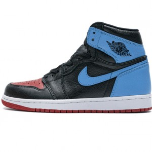 "Air Jordan 1 High ""UNC To Chicago"" Blue Black Red CD0461-046 36-47"
