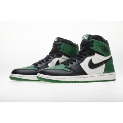 "Air Jordan 1 High OG ""Pine Green"" Black Green 555088-302"