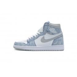"""Air Jordan 1 High """"Hyper Royal"""" Blue White Grey 555088-402 36-45"""