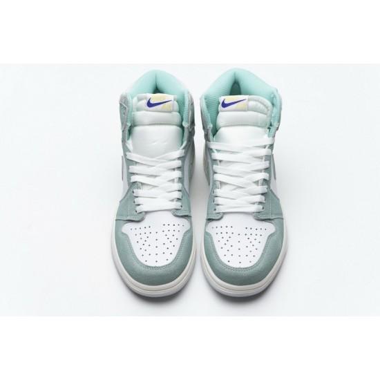 Air Jordan 1 OG Hi Retro Turbo Green Blue White 555088-311