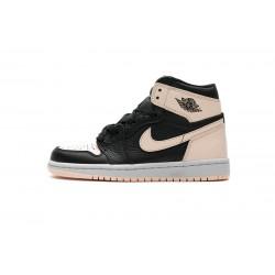 """Air Jordan 1 Retro High OG """"Crimson Tint"""" Pink Black 555088-081"""