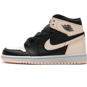 "Air Jordan 1 Retro High OG ""Crimson Tint"" Pink Black 555088-081"