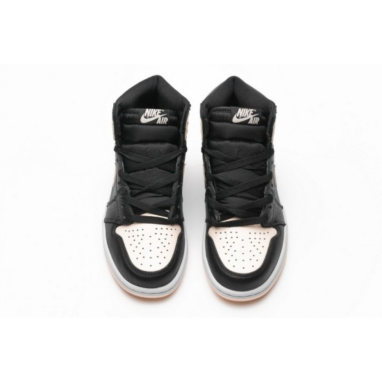 Air Jordan 1 Retro High OG Crimson Tint Pink Black 555088-081