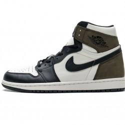 """Air Jordan 1 Retro High OG """"Dark Mocha"""" Brown White Black 555088-105"""