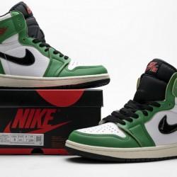 """Air Jordan 1 Retro High OG """"Lucky Green"""" White Green Black DB4612-300"""