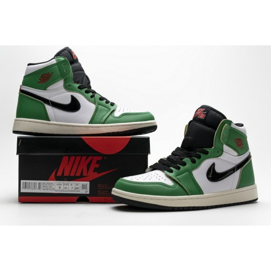 Air Jordan 1 Retro High OG Lucky Green White Green Black DB4612-300
