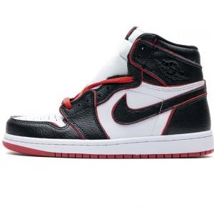 "Air Jordan 1 Retro High OG ""Meant To Fly"" Black Red 555088-062"