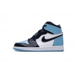 "Air Jordan 1 Retro High OG ""UNC"" Patent Blue Black CD0461-401"