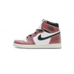 """Trophy Room x Air Jordan 1 High OG """"Chicago"""" Red White Black DA2728-100 36-46"""