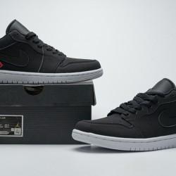 """Air Jordan 1 Low BG """"PSG"""" Black Blue Red CN1077-001 40-45"""