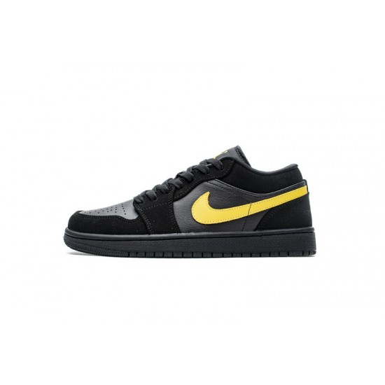 Air Jordan 1 Low Black University Gold Black Gold 553558-071