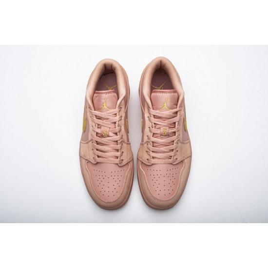 Air Jordan 1 Low Coral Stardust Pink Gold CJ9216-676
