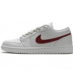 "Air Jordan 1 Low ""Milk"" White Red AQ9941-161"