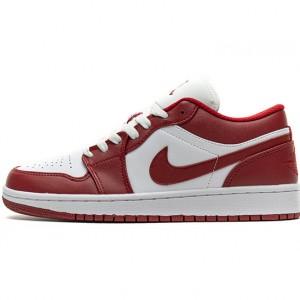 "Air Jordan 1 Low ""Sport Red"" White Red 553558-611"
