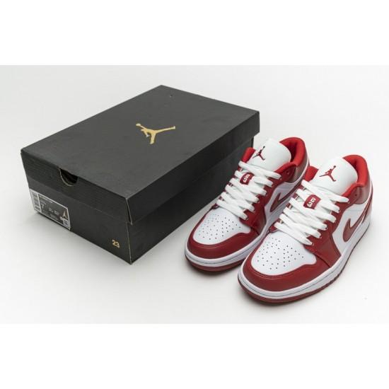 Air Jordan 1 Low Sport Red White Red 553558-611