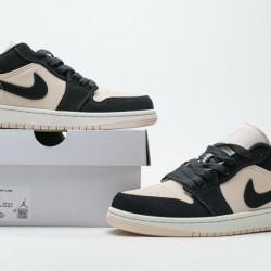 """Air Jordan 1 Low """"Black Guava Ice""""Black Pink DC0774-003 36-46"""