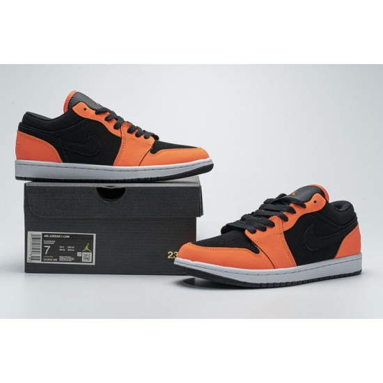 "Discount Air Jordan 1 Low ""Black Turf Orange"" Black Orange CK3022-008 36-45 Shoes"