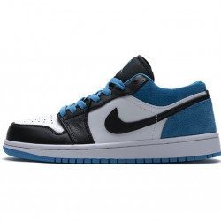 "Air Jordan 1 Low SE ""Laser Blue"" Blue White Black CK3022-004"