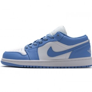 "Air Jordan 1 Low ""UNC"" Blue White AO9944-441"