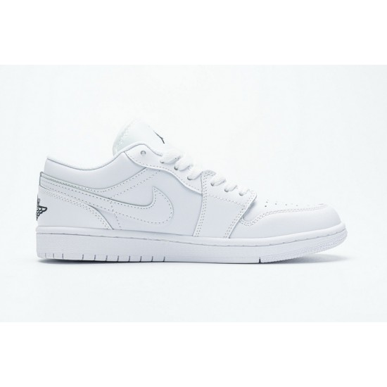 Best Air Jordan 1 Low White Black 553560-101 36-45 Shoes