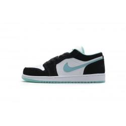 "Air Jordan 1 Low ""Island Green"" White Green Black CQ9828-131"