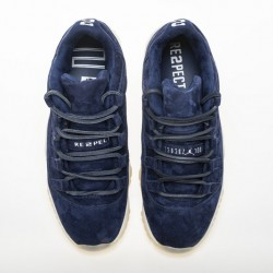 "Air Jordan 11 Low ""RE2PECT"" Black White AV2187-441"