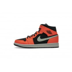 "Air Jordan 1 ""Black Cone"" Black Orange 554724-062"