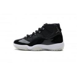 "Air Jordan 11 ""25th Anniversary"" Black Silver Eyelets CT8012-011 40-47"