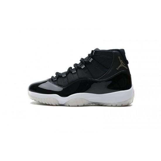 "Hot Air Jordan 11 ""25th Anniversary"" Black Silver Eyelets CT8012-011 40-47 Shoes"