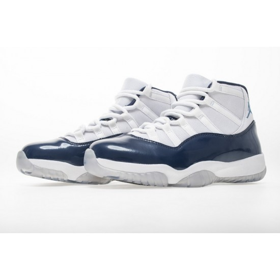 Air Jordan 11 Midnight Navy White Blue 378037-123