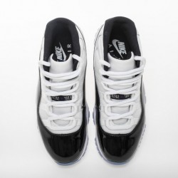 "Air Jordan 11 High ""Concord"" White Black 378037-100"