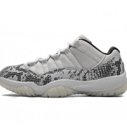 "Air Jordan 11 Low ""Light Bone"" Grey Black CD6846-002"