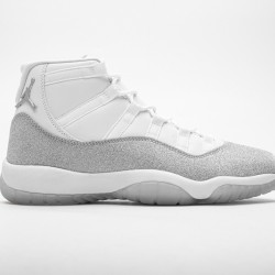 "Air Jordan 11 Retro ""White Metallic Silver"" White Silver AR0715-100"