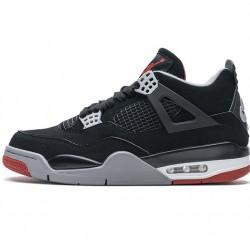 """Air Jordan 4 Retro """"Bred"""" Black Red 308497-060"""