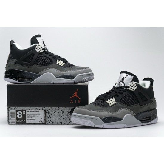 Air Jordan 4 Retro Fear Pack Grey Black 626969-030