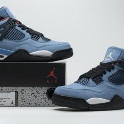 "Air Jordan 4 Retro ""Houston Oilers"" Black White 308497-406"