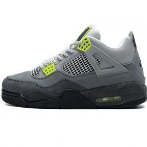 "Air Jordan 4 Retro SE ""Neon 95"" Grey Green CT5342-007 40.5-47"