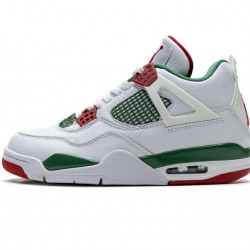 "Air Jordan 4 Retro ""Do The Right Thing"" White Green Red AQ3816-063"