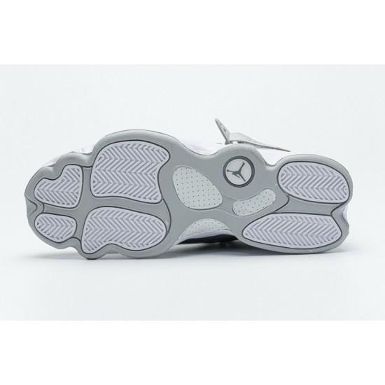 "New Air Jordan 6 Rings BG ""Cool Grey"" Grey White 322992-015 40-45 Shoes"