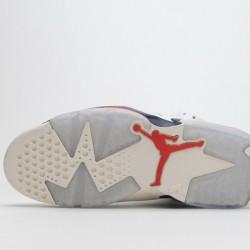 "Air Jordan 6 ""Tinker"" White Red 384664-104"
