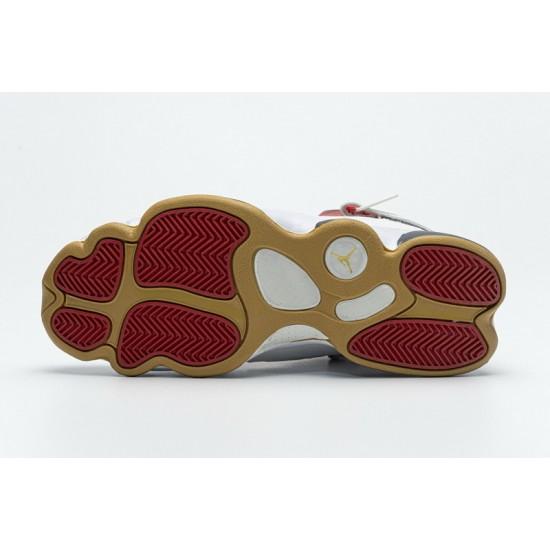 """Hot Air Jordan 6 Rings BG """"Vasty Red"""" White Red 322992-163 36-45 Shoes"""
