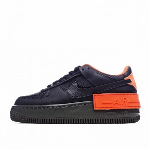 "Nike Air Force 1 Shadow ""Hyper Crimson"" Black Orange CQ3317-001"