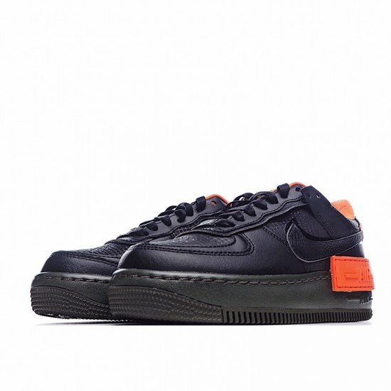 Nike Air Force 1 Shadow Hyper Crimson Black Orange CQ3317-001