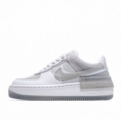 "Nike Air Force 1 Shadow ""Particle Grey"" White Grey CK6561-100"