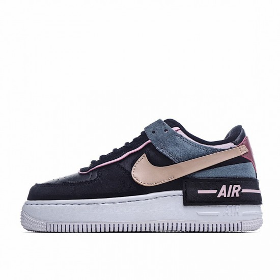 Nike Air Force 1 Shadow Black Light Arctic Pink Black Pink CU5315-001