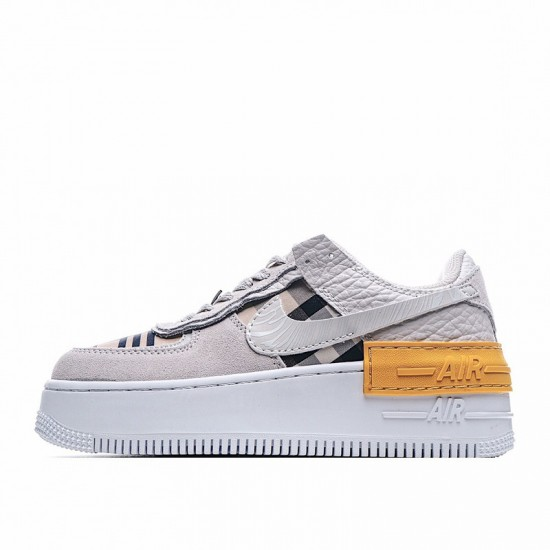 Nike Air Force 1 Shadow Grey Orange CU3446-072